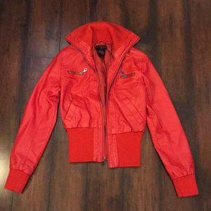 Fun little red jacket